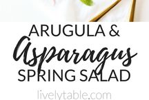 Side Salads / Healthy, easy, and simple side salad recipes