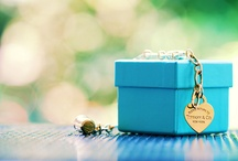 Tiffany & Co / Love the jewelry, love the trademark color!