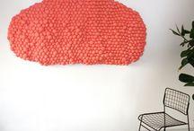 Growing Textiles - Wolwerken / #wolwerken #growingtextiles #acoustics #wallpiece