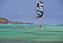 KITESURF St Barth / Enguerrand - qualified instructor - give private lessons to learn KiteSurf or Stand up Paddle on the StBarth Lagoon or in deep water.++http://www.saint-barths.com/uk-14-activite-loisirsnautiquesglisse-kitesurf-st-barths.html