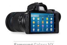 Samsung fotoğraf makinesi ve ekipmanları