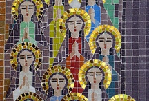 mosaic artwork / by Jonessa Farano