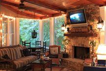 4 season porch / by Amy Welch