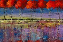 Painting trees Ford Smith
