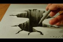 Drawing 3D hole