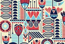 geometric floral pattern inspiration