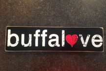 Buffalo Rustic Signs / Our various Buffalo Signs that we make