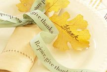 ~  Fall / Thanksgiving- Recipes, Crafts, Decor and Activities To-Do  ~ / by Lisa Flowney