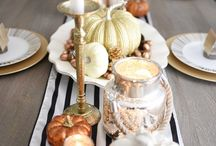 Holiday Home Staging: Tablescapes / Creative ideas for holiday dining table décor