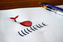 kalligrafie 3D