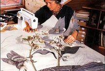 landscape quilt /embroidery