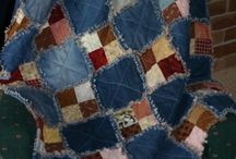 Denim quilts