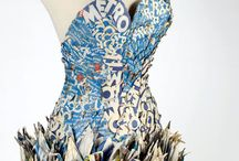 Recycle Work / Recyclables made into fashion!