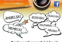 The Class Szkoła Języków Obcych w Piasecznie / Dowiedz się, co u nas. Zapoznaj się z nowościami w ofercie. Dołącz do naszych Słuchaczy.
