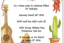 Party invitations...♡