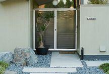 inngang hus eller hytte