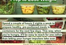Diet and Nutrition- Hacks, Tricks, and Tips / If you are trying to loose some unwanted pounds or just eat a healthier diet, you will find some great tips here.