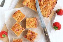 gezonde taarten/snacks