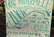 Favorite canvas ideas / by Brittany Townsend
