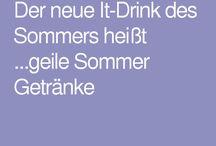 geile Sommer Getränke