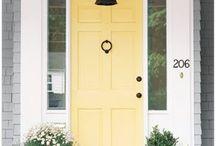 decoracion de puerta