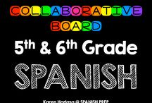 5th & 6th Grade Spanish / A Fifth & Sixth Grade Spanish collaborative board. Want to join this board? Follow me. Then send me an email with your Pinterest url at spanishprep@gmail.com *Limit yourself to three freebie/paid products per day!*