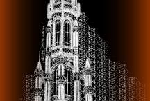 Koronka klockowa Architektura