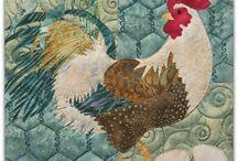 Quilt-Chicken Quilt