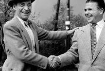 Latabár Kálmán és Puskás Ferenc 1954