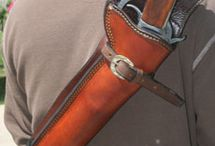 Leather: Firearms, Blades, Weapon Related / Scabbards, Holsters, Sheaths, Quivers, etc