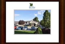 Bel Aire Locations / Bel Aire Senior Living with an Alzheimer's unit is located in American Fork, UT and Bel Aire Assisted Living is located in Orem, UT.