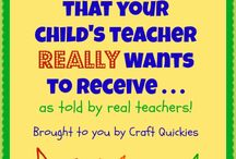 Gifts for Teachers / Gift ideas for your child's teacher