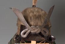 Sogonari - Kabuto / Sogo-Nari are a form of kabuto that have been covered in hair.