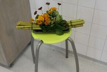 portfolio / gemaakte bloemwerken