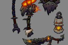 armas, armaduras e afins
