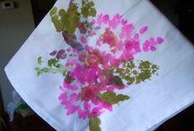 Plant flower knapkins