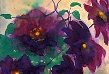 "Art Paintings, ""Emil Nolde"" / by David Knopf"