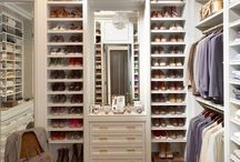 Closet storing. / It is a place clogged up with a dream of each person here. I like thought of people to see from here!