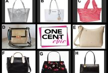 Super Tuesday Designer Choice Auction July 29 / 10 PM tonight choose from Kate Spade, Michael Kors, Brahmin, Aimee Kestenberg and Hobo designer handbags at OneCentChic.com