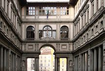 Uffizi Galleria / Home to wonderful art as well as handsome art directors.