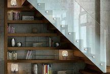 Under staircase