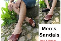 Men's Sandals / Collecting All Kinds of Sandals for Men, Such as Flat Sandals, Flip Flops Sandals, Gladiator Sandals, Ankle Strap Sandals, Ankle-Wrap Sandals, Fisherman Sandals, T-Strap Sandals, Slide Sandals, Cross-Strap Sandals and more. All are Free Shipping Over $49 Order on www.omgnb.com