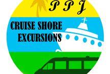 Jamaica Cruise Shore Excursions / Cruise Shore Excursion PPJTours Cruise Shore Excursions providers from Jamaica three Cruise Ports, Ocho Rios, Montego Bay and Falmouth. PPJT offers a fantastic selection of popular Cruise Shore Excursions activities and tours from Ocho Rios, Montego Bay and Falmouth such as Dunns River Falls, Horse Back Riding, River Tubing, Parasailing, Snorkelling, Island Tours, Parasailing, Beaches, Museums (Bob Marley) http://paradisepalmsjamaicatours.com/shop/cruise-shore-excursion-c-9/#.Un7Mk_mR4TY / by Paradise Palms Jamaica