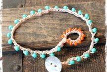 chrochet jewelery