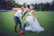 Focista esküvő / Kreatív esküvői témák - focista esküvő  Hasonlóan jól sikerült esküvői fotókat szeretnétek? Weboldalunk: http://www.sensephoto.hu/ Telefon: +36 70 207 14 11