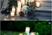 výzdoba svíčky