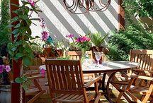 ideias decoração jardins