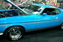 Boss 351 Mustangs
