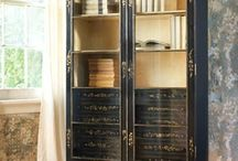 Bookcases and Storage units