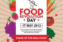Food Revolution Day 2013 / by Traces d'Agriculteurs